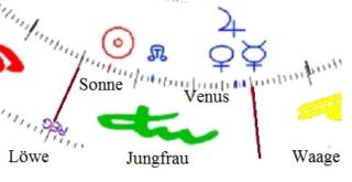 VENUS Konjunktion JUPITER