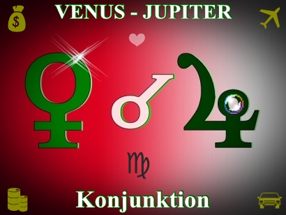 VENUS- Konjunktion JUPITER
