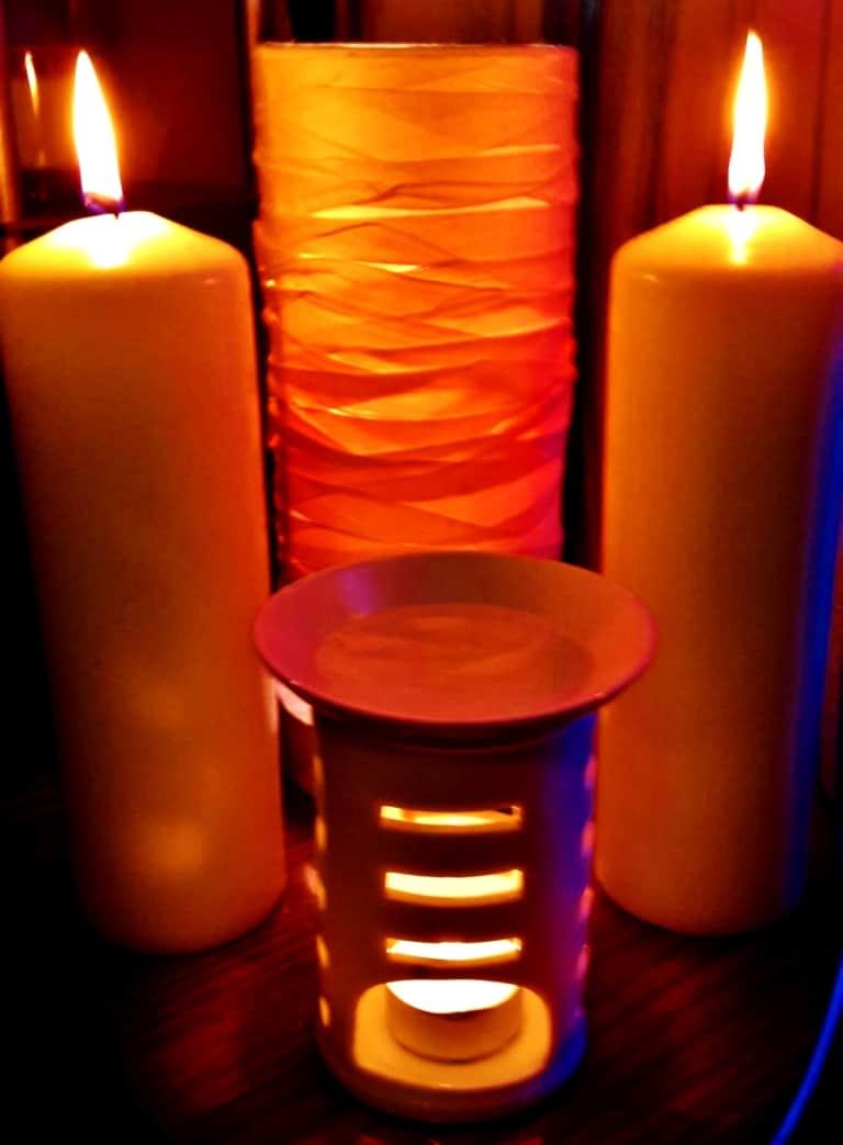 Magisches für Wintertage Kerzen