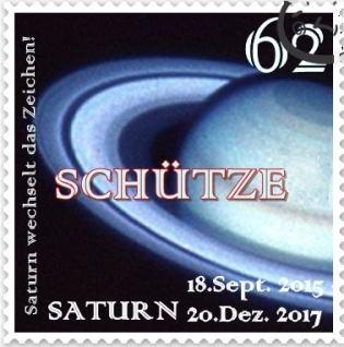 Saturn in Schütze