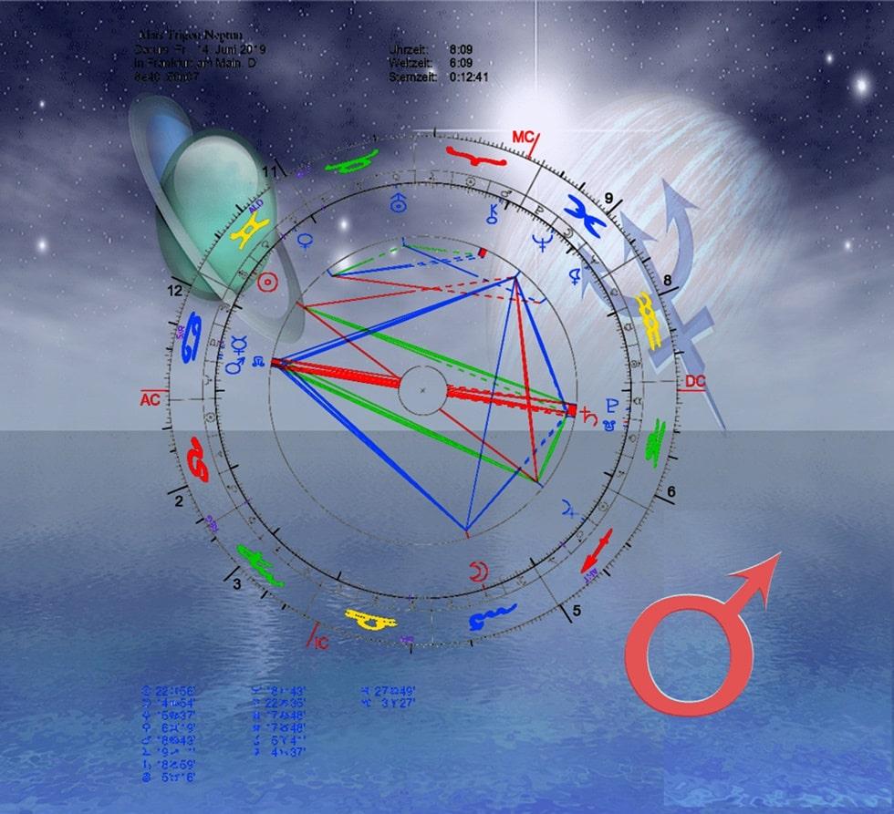 Mars Trigon Neptun