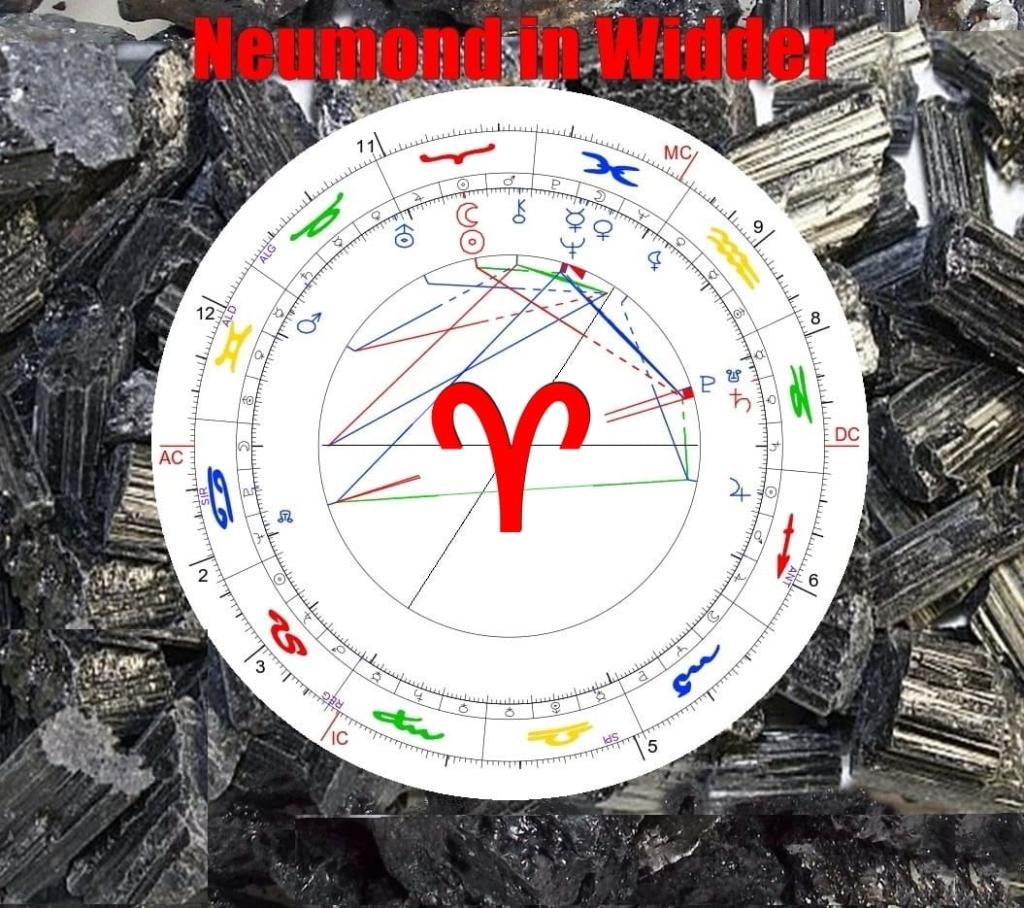 Neumond in Widder